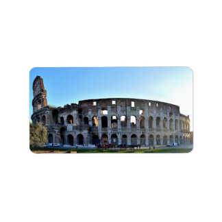 Rome etikett adressetikett