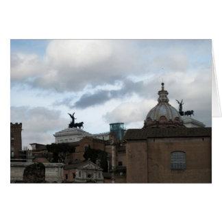 Rome i dess härlighet hälsningskort