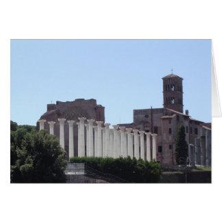Rome italien 2007 hälsningskort
