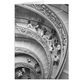 Rome italien, Vatican trappuppgång 3 Hälsningskort