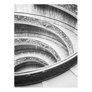 Rome italien, Vatican trappuppgång Vykort