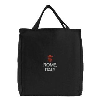 ROME ITALIENSVARTTOTO BRODERAD TYGKASSE