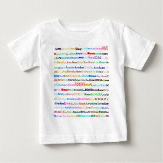 Rome skjortaspädbarn tee shirts