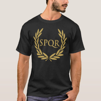 Rome SPQR förseglar den romerska senaten Tshirts