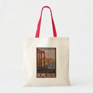 """""""Rome"""" vintage resoraffisch Tygkasse"""