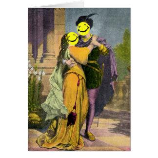 Romeo & Juliet Peekaboo Hälsningskort