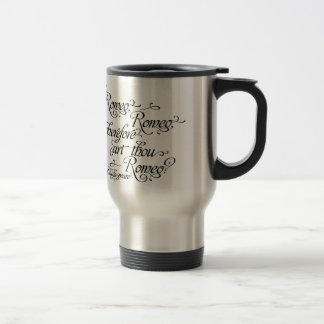 Romeo och Juliet travel mug, Shakespeare Resemugg