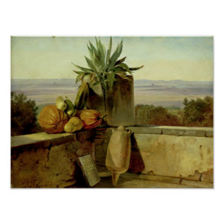 Romersk balkong, 1834 poster