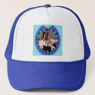 Romersk hästsoldat för hatt vid den Ladee basseten Truckerkeps