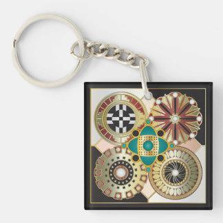 Romersk jul 01 & 02 Keychain