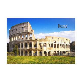 Romersk skräddarsy Colosseum Amphitheater Canvastryck