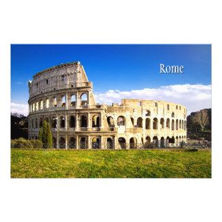 Romersk skräddarsy Colosseum Amphitheater Fototryck