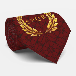 Romersk SPQR-lagrarTie med det mosaiska mönster Slips