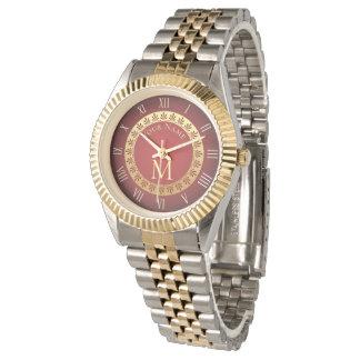 Romersk stilanpassningsbarMonogram Armbandsur
