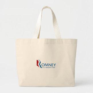 Romney är ett massivt verktyg jumbo tygkasse