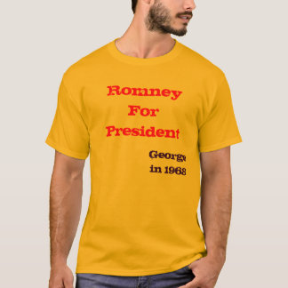 Romney för presidenten, George i 1968 Tee Shirts