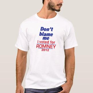 Romney klandrar inte mig tröjor