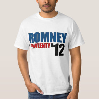 Romney Pawlenty 2012 Tshirts