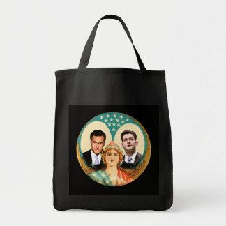 Romney Retro Ryan Tote Bags