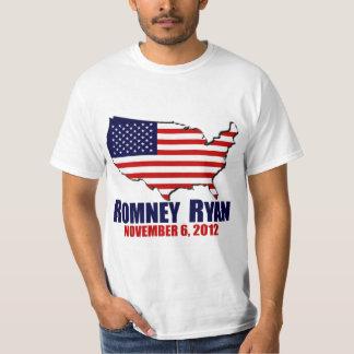 Romney Ryan amerikanval Tshirts
