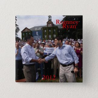 Romney - Ryan Standard Kanpp Fyrkantig 5.1 Cm