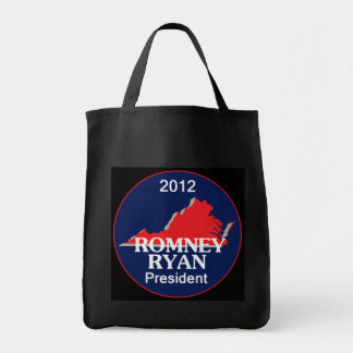 Romney Ryan VIRGINIA Tygkasse