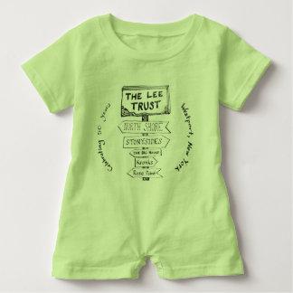 Romper för baby för årsdag för Lee förtroende 50th T-shirt