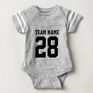 Romper för baby för grå färg- och t-shirts
