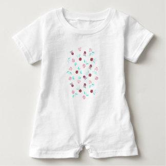 Romper för klöverblommababy t-shirt