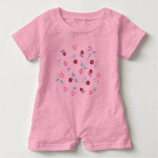 Romper för klöverblommababy t-shirts