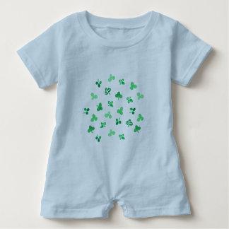 Romper för klöverlövbaby t-shirt