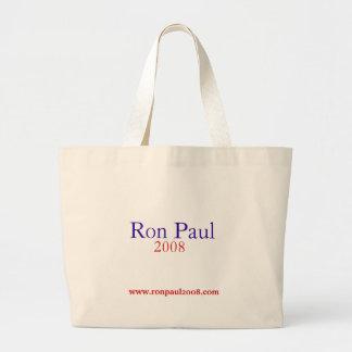 Ron Paul 2008 hänger lös Jumbo Tygkasse