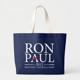 Ron Paul 2012 hänger lös Jumbo Tygkasse