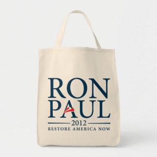 Ron Paul 2012 hänger lös Tygkasse