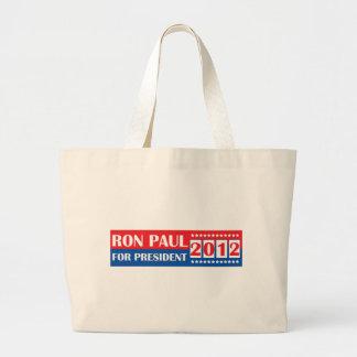 Ron Paul för presidenten 2012 Jumbo Tygkasse