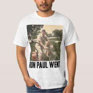Ron Paul gick T-tröja T Shirts