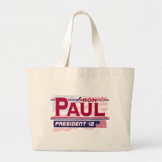 Ron Paul president 2012 Jumbo Tygkasse