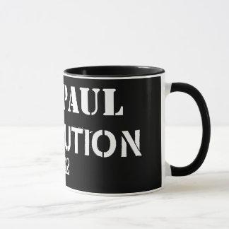 Ron Paul revolution 2012 Mugg