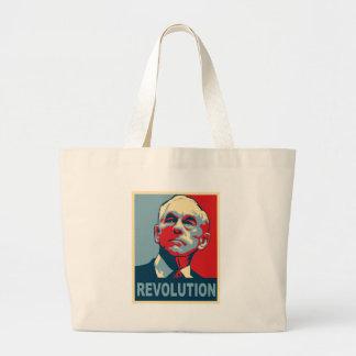 Ron Paul revolution Jumbo Tygkasse