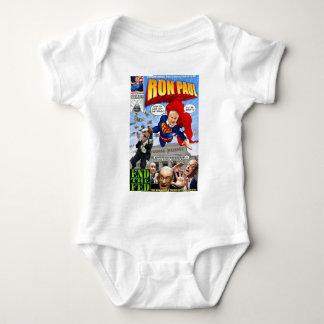 Ron Paul toppen hjältehumorbok T Shirt