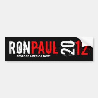 Ron Pual 2012 - återställande Amerika nu Bildekal