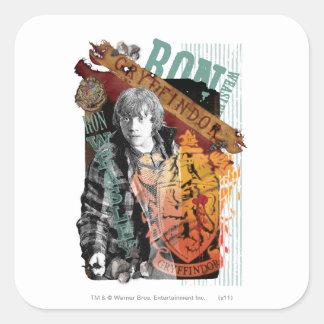 Ron Weasley Collage 1 Sticker