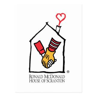 Ronald McDonald händer Vykort