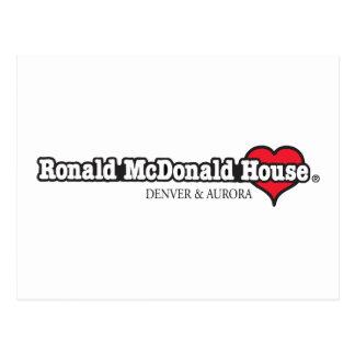 Ronald McDonald hjärta Vykort