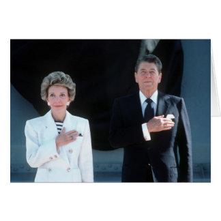 Ronald och Nancy Hälsningskort