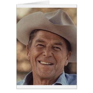 Ronald Reagan Hälsningskort