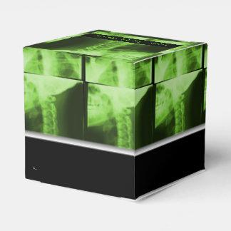 Röntgad radioaktiv grönt 2 presentaskar