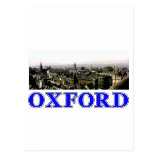 Rooftops 2 för Oxford kortpanorama MUSEET Zaz Vykort