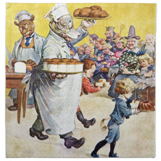 Roosevelt uthärdar det Buttery bagerit Tygservett