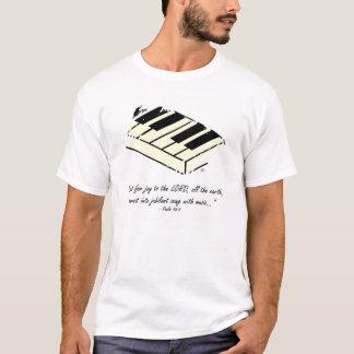 """""""Rop för glädje - piano"""" skjorta Tee"""